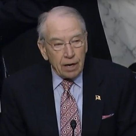 GRASSLEY UNCHAINED: The Senator UNLOADS on Broward Sheriff for REFUSING to Testify
