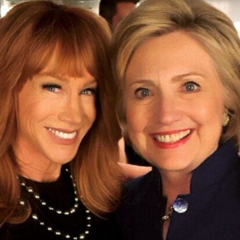 SHE'S BACK: Kathy Griffin Posts BIZARRE Photo of 'THE PRESIDENT'