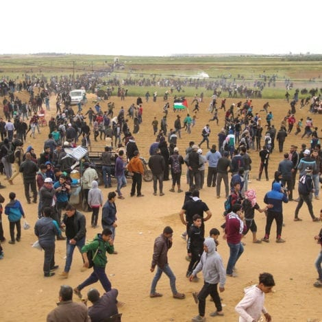 ISRAEL ON EDGE: Thousands of Palestinians PROTEST, Multiple Fatalities Reported