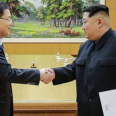 KIM CAVES: North Korea WILLING TO FREEZE Nuclear Program, Talk with Trump