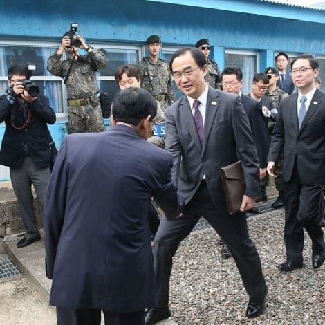 DOOMSDAY DELAY: Leaders of North and South Korea to Meet Next Month