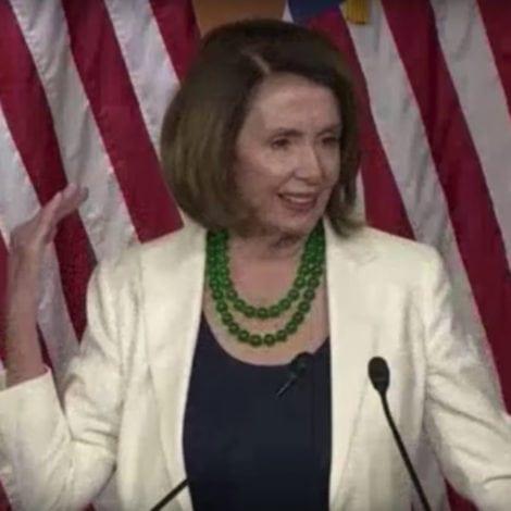PELOSI PANICS: Nancy SHOCKED at the 'OBNOXIOUS' HEIGHT of Trump's Border Wall