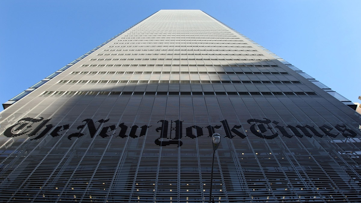 image for MEDIA MELTDOWN: NY Times Publishes Article Calling for Coronavirus to be...