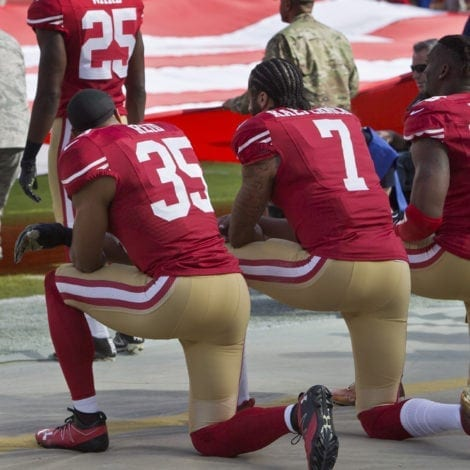 END ZONE: Jobless NFL Star Says He'll NO LONGER KNEEL During Anthem