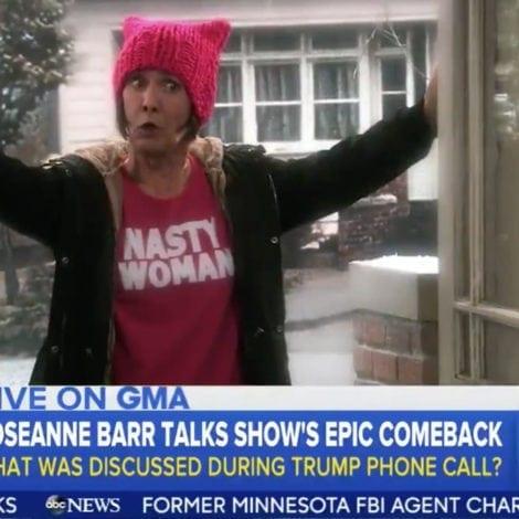 TRUMP CALLS ROSEANNE: The President CONGRATULATES Roseanne's MASSIVE SUCCESS