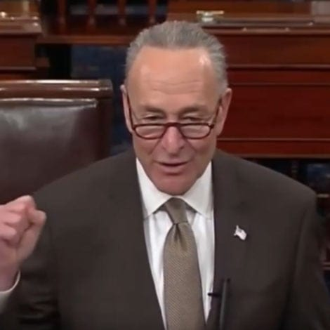 SCHUMER SHOCKER: Chuck Says Trump 'EXACTLY RIGHT' on China, 'Disappointed' in Obama