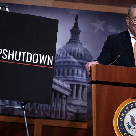 SCHUMER SHOWDOWN: Chuck Warns of 'YEARS' OF LAWSUITS Over Border Wall