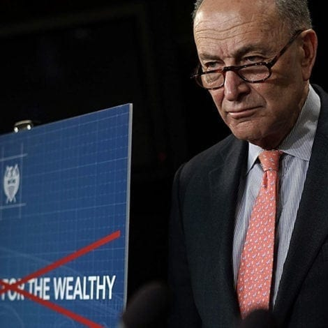 SCHUMER'S SURPRISE: Chuck Calls on Congress to Hike Rates, REPEAL GOP Tax Cuts