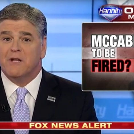 HANNITY: Jeff Sessions Should FIRE 'Corrupt and Crooked' McCabe NOW