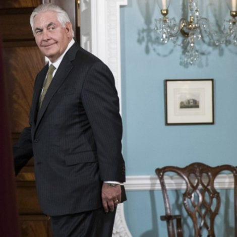 REXIT: Rex Tillerson OUT as Secretary of State, CIA Director Pompeo IN