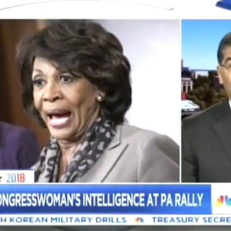 CHAOS IN CALI: State Official Tells Trump to 'BE CAREFUL' Around Maxine Waters