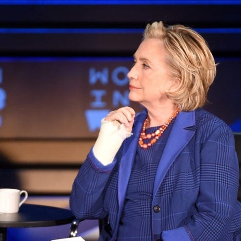 HILLARY UNHINGED: 'They Were NEVER Going to Let Me Be President'