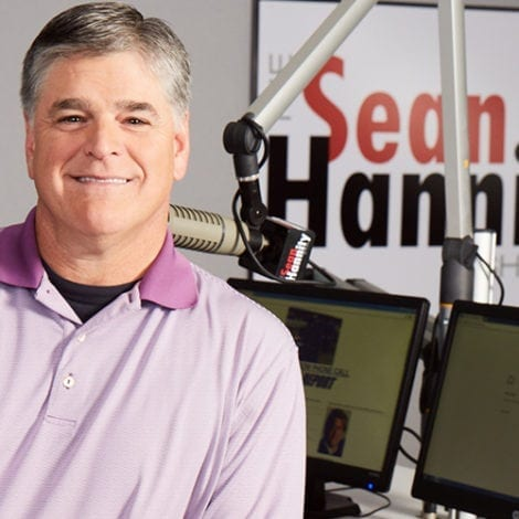 Sean Hannity in Studio