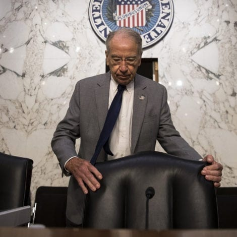 GRASSLEY GOES ROGUE: Says His Panel WILL VOTE on MUELLER 'Protections'