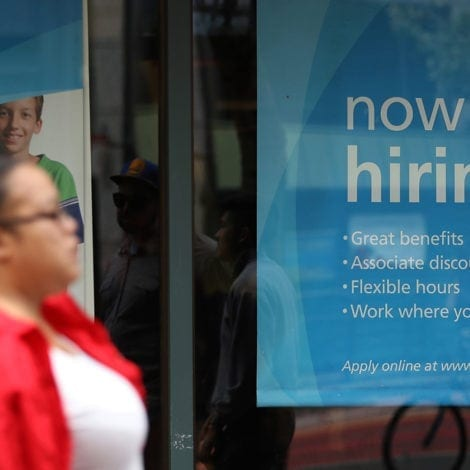 GREAT AGAIN: April Jobless Claims PLUMMET to 45-Year Low