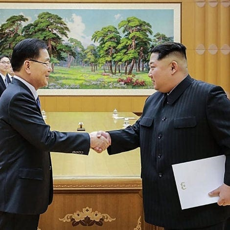 PEACE IN KOREA: North and South Korea INSTALL HISTORIC Hotline Between Leaders