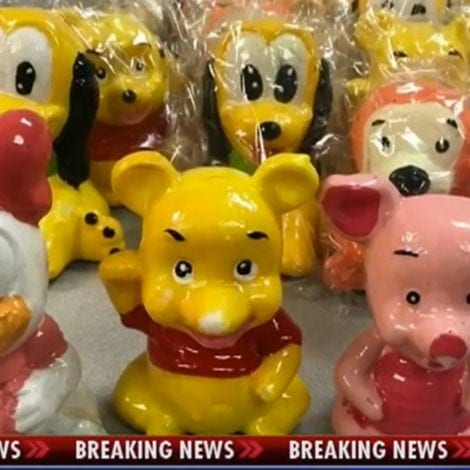 BORDER CHAOS: 500 Pounds of Mexican METH Discovered in 'DISNEY' Figurines