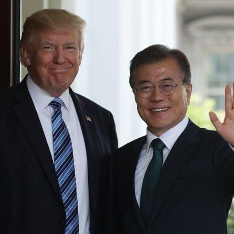 SOUTH KOREAN PRESIDENT: 'Give Donald Trump NOBEL PRIZE'