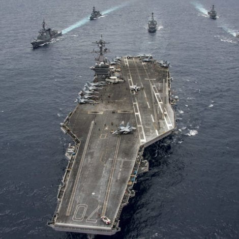 SYRIA SHOWDOWN: US Warships RACE to Middle East, Largest Fleet Since 2003