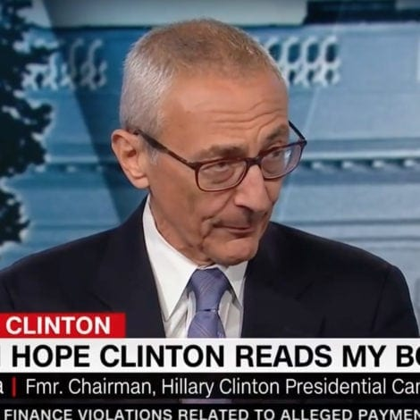 KNIVES OUT: Podesta Says Comey Was an 'HONEST IDIOT' During Clinton Probe