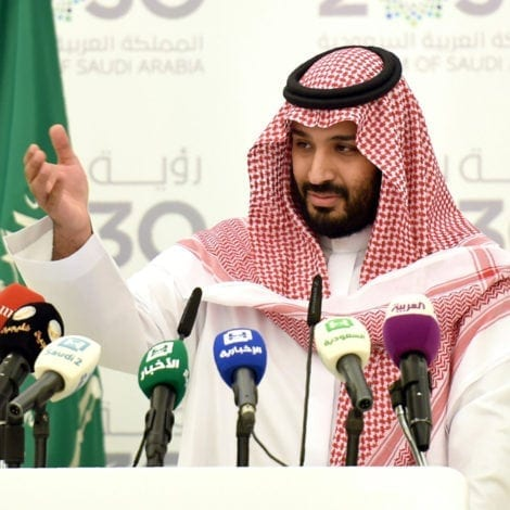 SAUDI STUNNER: Crown Prince Tells Palestinians to 'SHUT UP' and 'Stop Complaining'