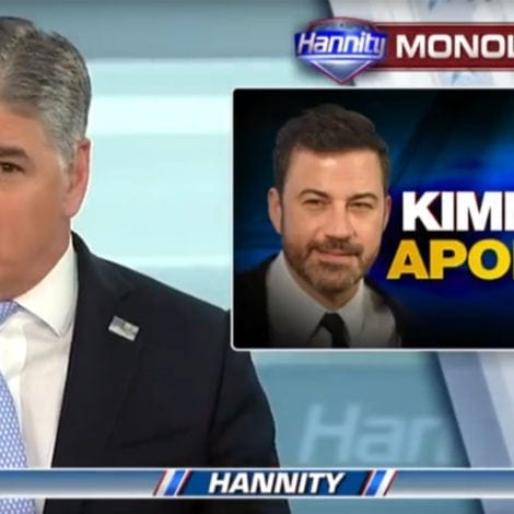 HANNITY: Sean Hannity RESPONDS to Jimmy Kimmel's Apology