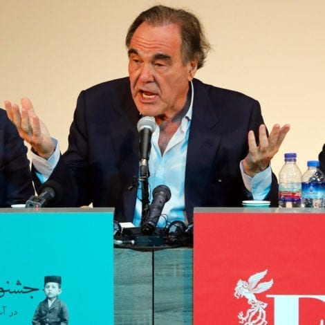 HOLLYWEIRD: Oliver Stone Equates Trump to SATAN in Bizarre Rant in Iran