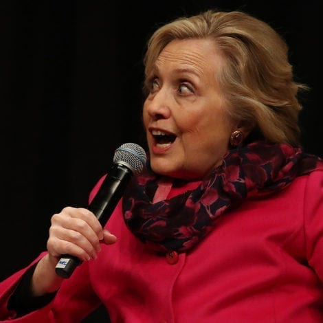 UNHINGED: Hillary Compares Trump to 'TRAIN WRECK' in New Zealand