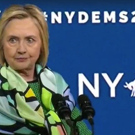 HILLARY UNHINGED: Clinton Mocks Trump, Says She 'WON' 2016 Debates