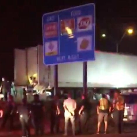BORDER CHAOS: Trailer Crammed with 90 IMMIGRANTS Discovered in Texas
