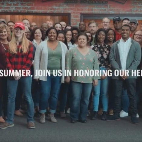 SERVICE NEVER STOPS: Budweiser Announces New Partnership With 'Folds of Honor'