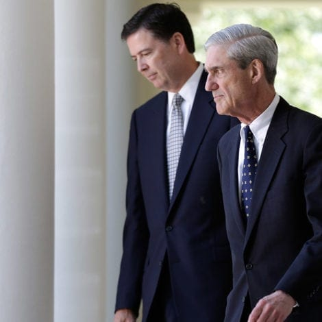 REPORT: James Comey 'CONSULTED' with Mueller Team Over Russia TESTIMONY
