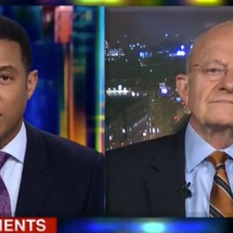 INSIDE MAN: James Clapper Says Spying on Trump was 'A GOOD THING'