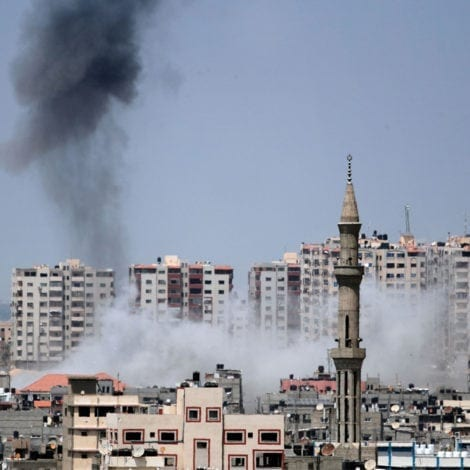 ISRAEL UNLEASHED: Netanyahu Strikes Militant Bases in Gaza After Mortar Attack