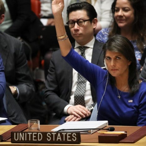 HALEY UNLEASHED: United States BLOCKS UN Probe into 'Peaceful' Gaza Protests