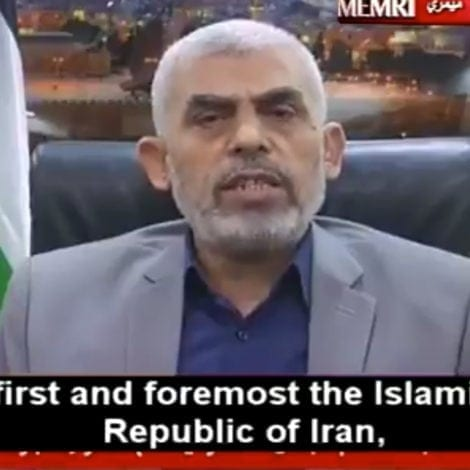 HAMAS ADMISSION: The Terror Network Says It Coordinates with IRAN EVERY DAY