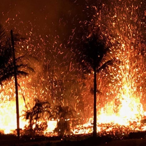 HELL IN HAWAII: Dozens of Homes DESTROYED as Residents Flee Volcano
