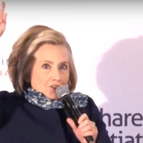 UNHINGED: Hillary Claims She Lost Election Because She's 'A CAPITALIST'