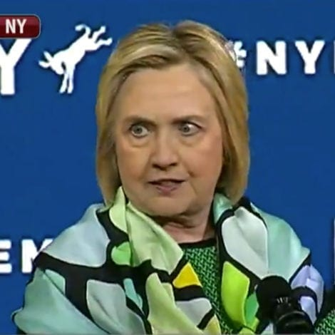 HILLARY: Americans Concerned with 'RULE OF LAW' Should Vote for DEMOCRATS