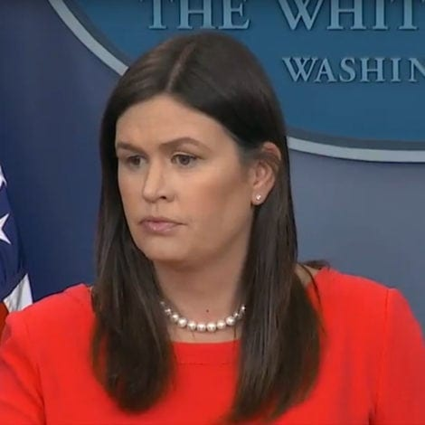 HUCKABEATING: Sarah Sanders UNLOADS on 'LIBERALS' Out to 'DEFEND MS-13'