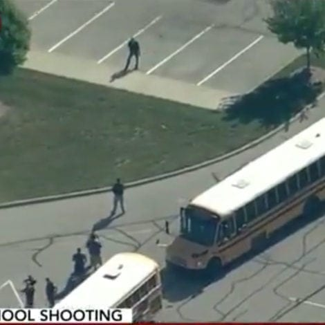 ACTIVE SHOOTER: Reports of Gunman at Indiana Middle School, 2 Critically Injured