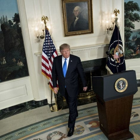 WATCH LIVE: President Trump Announces Fate of Iranian Nuclear Agreement