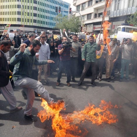 TEHRAN'S TIRADE: Iran Trashes 'FEEBLEMINDED' Trump Over US Embassy