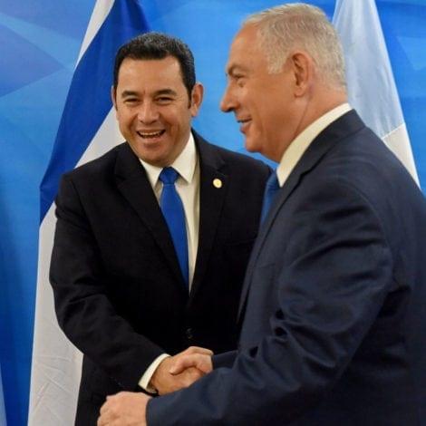 AMERICA LEADS, WORLD FOLLOWS: Guatemala Moves Embassy to Jerusalem