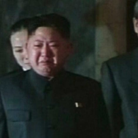 CRYING KIM: Kim Jong Un Reportedly Wept After Viewing Korean Poverty