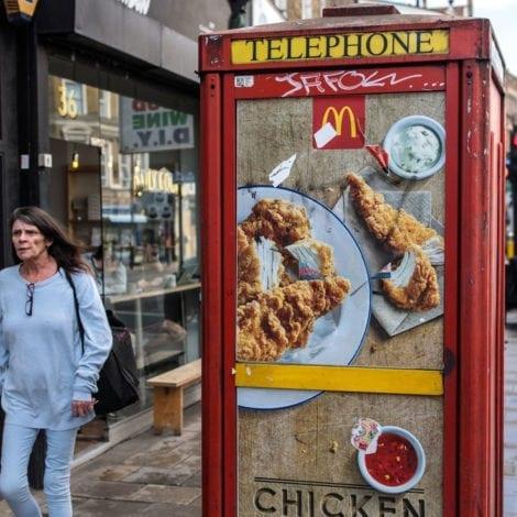 LIBERAL PRIORITIES: London Mayor Bans 'FAST FOOD ADS' as Murder Rate Soars
