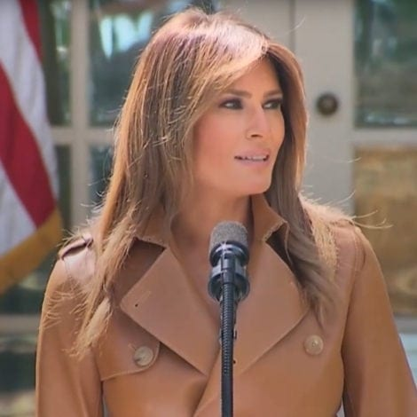 MELANIA'S MOMENT: First Lady Unveils 'Be Best' Campaign for Children