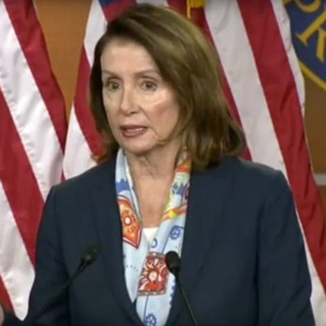 NANCY GOES NUCLEAR: Pelosi Slams Trump's MS-13 Comments, Questions His FAITH