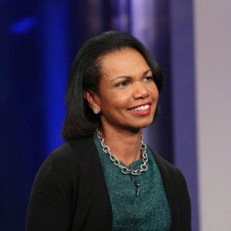 RICE ADVICE: Condi Rice Says US Will be 'JUST FINE' if Trump Scraps Iran Deal