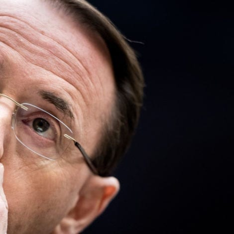 REPORT: GOP Reps Draft 'Articles of IMPEACHMENT' Against Rod Rosenstein